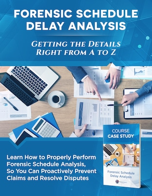 Project Control Forensic Delay Analysis Course